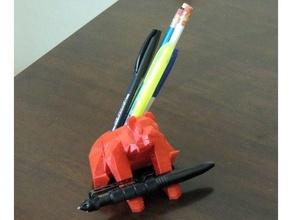 poly bear pen holder animal bear poly pen holder