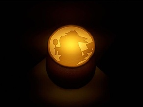 Sarı fare Lamba gölge örtmek kılıf topper anime örtmek kılıf dedektif Lamba fare topper Sarı