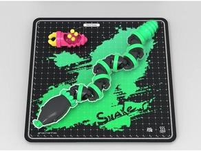 yılan mafsallı kolay baskı esnek hacmanhac skelpix yılan oyuncak oyuncaklar oyuncak yılan