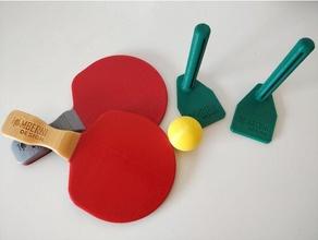 mini table tennis ping-pong set ball cosplay game paddle pingpong play table tennis toy