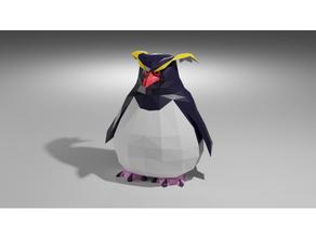 rock penguin toy 3dmodel animal model penguin sculpture toy