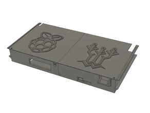 ender 3 pro rear electronics case skr e3 mini raspberry