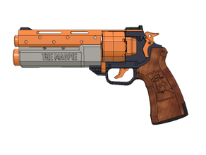 magpie -- double action nerf revolver dart magpie mhp mhp arms nerf pistol revolver
