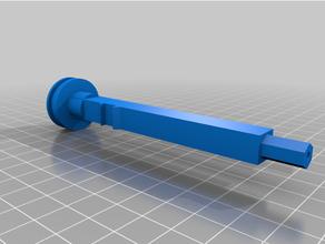 nerf firestrike upgraded plunger rod t-pull nerf