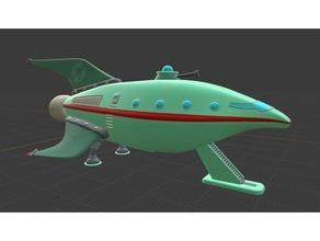 futurama Uzay gemi