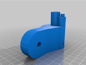 wall fan motor support