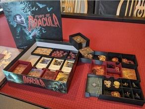 fury dracula 4th edition board game box insert organizer work 3rd edition 3rd 4th board boardgame dracula fury fury dracula game insert organizer