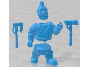 space dwarf berserkers - builder kit 40k berserker dwarf dwarf guilds gdf grimdark future onepagerules opr slayer squat warhammer 40k