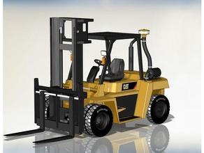 caterpillar dp70 forklift 3d professional cat cat forklift catterpilar forklift rc forklift truck