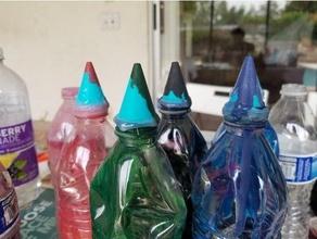 water bottle nozzle tie dye art art tool dye nozzle tie dye tshirt water bottle