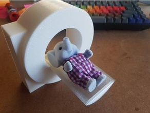 mri scanner sylvanian families calico critters dolls house hospital calico critter hospital mri sylvanian families