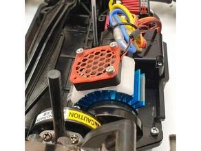 540 motor heatsink 30mm fan mount 30mm fan 30mm fan mount 540 540 motor fan heatsink tamiya tamiya tt02 tt02