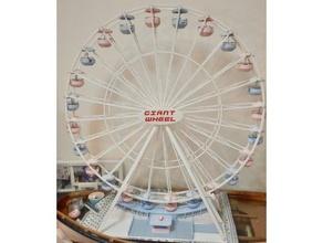 gigante rueda Ferris rueda grande libertino rueda habló dividido 2 partes carrusel Ferris noria Ferris rueda gigante gigante rueda escuela manejo maqueta escuela manejo libertino escala modelo rueda
