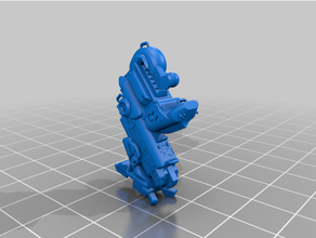 Puma mk ii mech 3dmodel 3dprintable Elegoo Marte livre jogos jogos mech mecha miniatura modelo posivel resina robô scifi shapr3d tampo mesa jogo guerra zbrush