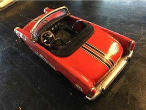 güneş ışını alp kaplan s5 1 24 yuva araba 3d baskı Carrera carrera132 ölçülü slotcar slotcar 124 slotcar 132 yuva araba oyuncak araba