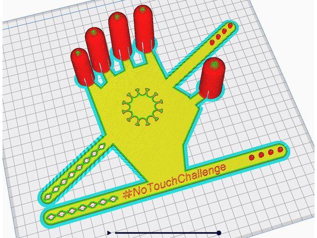 notouchchallenge glove co