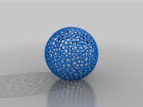 esfera decoracion esfera voro voronoi