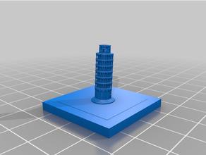 greeble città punti riferimento pendente Torre pisa greeble greeblecity punti riferimento