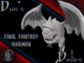 final fantasía ahriman mini 28mm ahriman mazmorras dragones fantasía final fantasía miniaturas