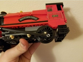 Lego vapore treno ruota fisso