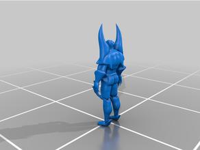 super cattivo fantasia 3d stampante 3d stampa azione figura carattere carattere modello comicsfigure fantasia maschio azione figura statico statua statua super supereroe cattivo