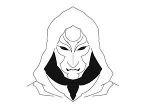 amon stencil amon avatar equalist legend korra stencil legend korra
