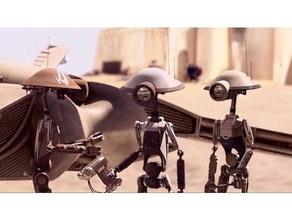 pit droids pit crew & pit commandos 3d printing clone wars droid droids empire jedi legion legion terrain mandolorian miniature miniatures pit rebel alliance sith star wars star wars legion star wars rebels terrain mandalorian