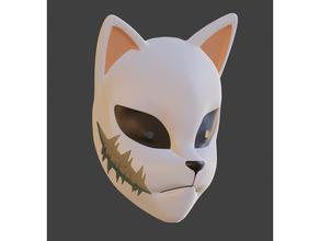 sabito mask cosplay cosplay prop costume demon slayer demonslayer facemask mask prop