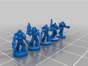 6mm mk5 Legion bezerkers