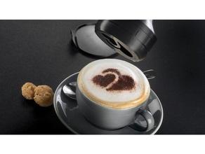 3d4u 3d4u Kahve Miele barista motif