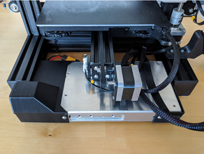 ender 3 pro meanwell psu low-profile rear mount creality ender 3 pro dual dual z-axis dual axis ender3pro ender3 pro ender 3 pro lowprofile profile meanwell meanwell lrs 350 meanwell lrs 350 24 power supply power supply mount psu psu mount