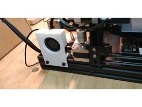 axis stepper motor fan mount cooler cooling cooling fan ender ender3 ender 3 fan duct fan mount stepper stepper cooler