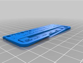 personalizzato filamento campione filamento test steve personalizzato
