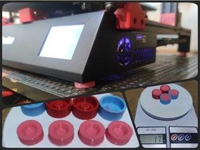Alfawise u20 mofo silicone amortecedor