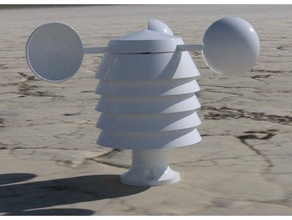 metereologico stazione anemometro anemometro anemometro rotore bme280 bme280 alloggi bme280 supporto sensore dht 22 dht11 dht22 sensore hall Stevenson schermo Stazione metereologica metereologico stazione