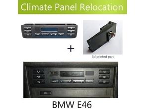doppelt Lärm ac Umzug Lünette BMW e46 billig Lösung ac Umzug Lünette BMW BMW e46 Klemme Klima Steuerung doppelt Lärm e46