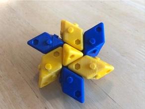 parallélépipède lego octaèdre parallélépipède tétraèdre inutile