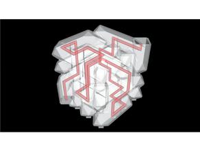 Douane nu 3d Labyrinthe pack 0 remplissage soutien 3d Labyrinthe 3d puzzle labryinthe Labyrinthe Labyrinthe cube Labyrinthe Générateur remplissage soutien octaèdre puzzle
