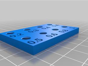 personalizzato e3d ugello estrusore titolare supporto dual scatola
