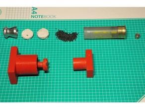 12ga wad making mini press 12ga cartridge reloading reloading reloading tools slug wad