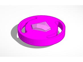 invincibile rosa diamante schermatura octa beyblade beyblade scoppiare beyblade scoppiare strato Steven universo