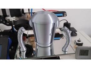 bender kit 2 separato torso braccia bender futurama robot
