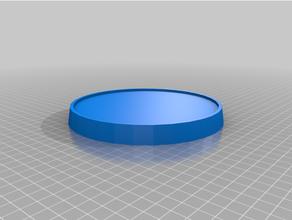 Peana redonda paraca maquetas redondeado modelo base base maqueta modelo Peana