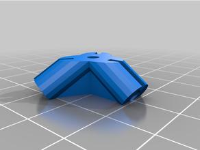 conectores leer plano nicos Cubo dodecaedro icosaedro omnipoliedro scad slidos platnicos tetraedro