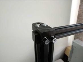 Ajustable axis stabilisateur Ajustable aluminium profil stabilisateur axis axis stabilisateur