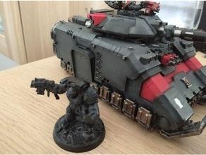 terminator shoulder watcher death repaired 40k deathwatch warhammer 40k