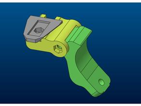 wilcox dovetail night vision mount j-arm adapter dovetail night nod pvs14 vision wilcox