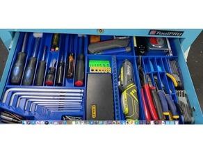 tool trolly trays alan draw key organiser pliers rolling screwdriver tool toolpro tray trolly