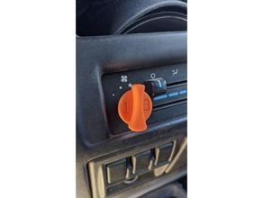 jeep wrangler air knob '97 1997 ac knob car car knob heater knob hvac knob jeep jeep tj jeep wrangler knob knobs truck