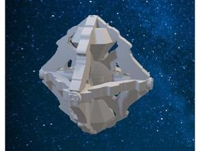 Star Wanderung borg Diamant Schiff borg Raumschiff Raumschiff Star Trek Star Wanderung Star Wanderung Reisende
